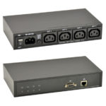 GP IP-Power Controller 1x Input IEC-320, 4x Output IEC-320, 90-250 VAC, 10 A max. Switching Current