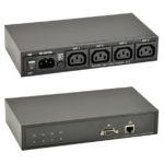 GP IP-Power Controller 1x Input IEC-320, 4x Output IEC-320, 90-250 VAC, 10 A max. Switching Current